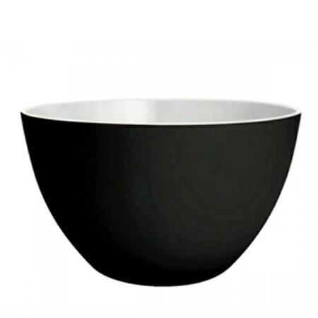 Zak Designs Misa do sałatek 22 cm, czarna/biała 0535-1899E