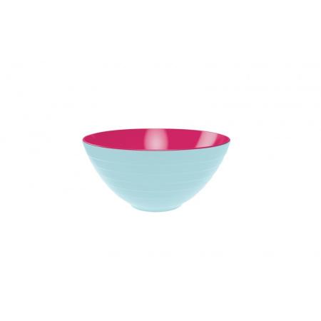 Zak Designs Misa do sałatek 28 cm, niebieska/różowa 2172-0321