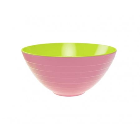Zak Designs Misa do sałatek 28 cm, różowa/zielona 2173-0321