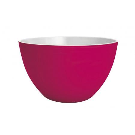 Zak Designs Miska do sałatek 28 cm, różowa/biała 7640127687789