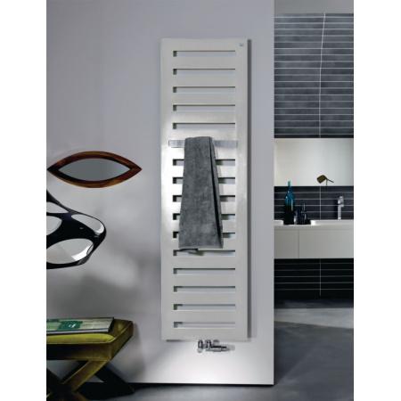 Zehnder Metropolitan Bar Grzejnik dekoracyjny 122,5x40 cm pionowy zasilanie wodno-elektryczne, biały RAL 9016 MEPM-120-040/GD