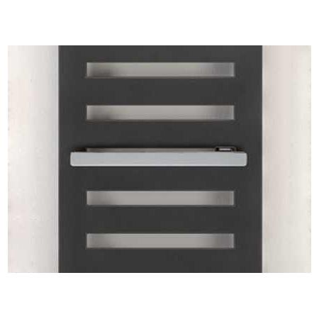 Zehnder Metropolitan Reling na ręczniki 43 cm jednostronnie otwarty, chrom 468048