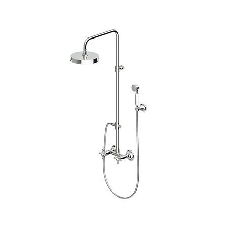 Zucchetti Agora Dwuuchwytowy zestaw prysznicowy, mosiężny ZAG860.T