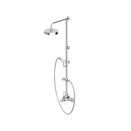 Zucchetti Agora Termostatyczny zestaw prysznicowy, mosiężna ZAG865.T