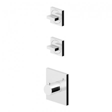 """Zucchetti Aguablu Bateria termostatyczna prysznicowa podtynkowa 3/4"""", chrom ZA5091"""