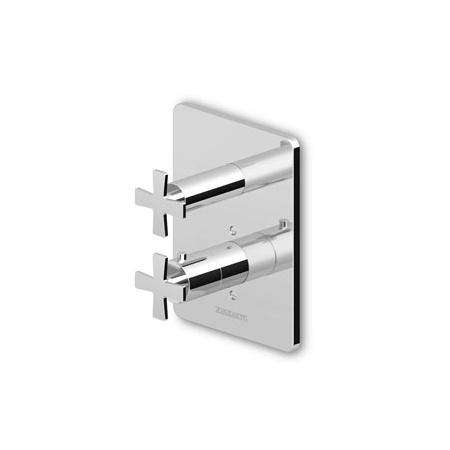 """Zucchetti Bellagio Bateria termostatyczna natryskowa podtynkowa 3/4"""", niklowa ZB1026.C8"""