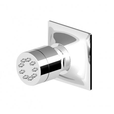 Zucchetti Bellagio Jednostrumieniowa dysza boczna prysznicowa, niklowa Z92897.C8