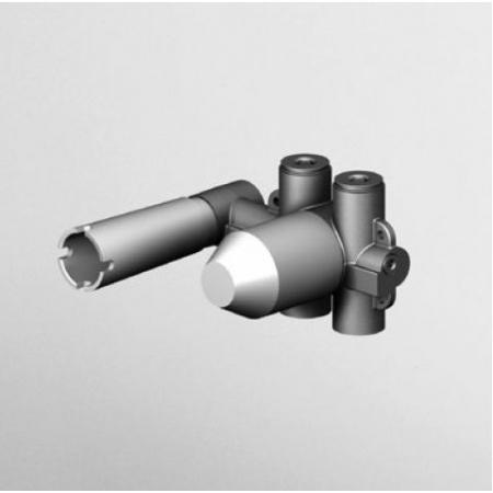 Zucchetti Element podtynkowy nikiel szczotkowany R99815.C3