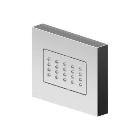 Zucchetti Him Jednostrumieniowa dysza boczna do kabin prysznicowych, PVD różowe złoto Z92901.C22