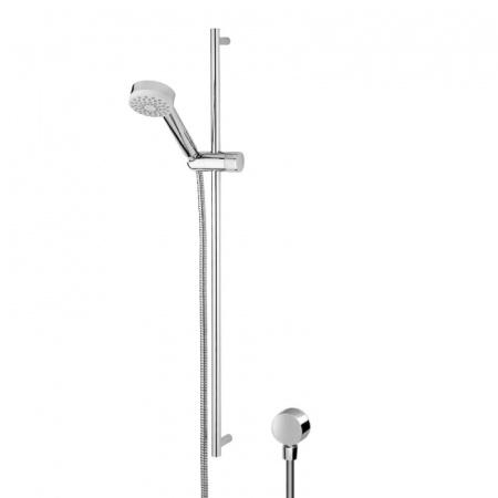 Zucchetti Isyshower Zestaw prysznicowy, stal szczotkowana Z93067.C3