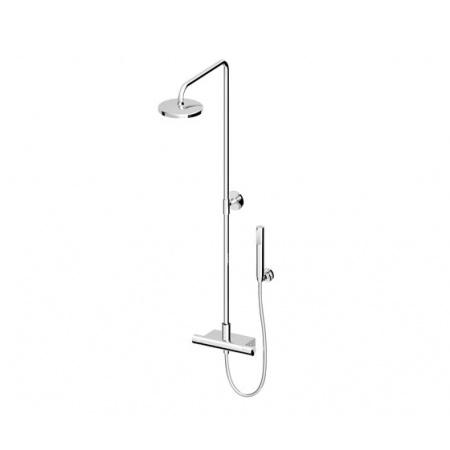 Zucchetti Isyshower Zestaw prysznicowy, stal szczotkowana ZD1050.C3