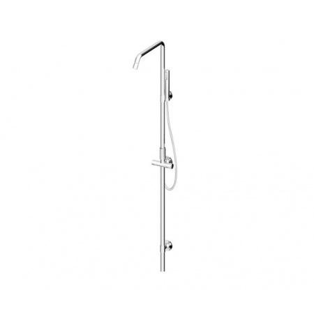 Zucchetti Isyshower Zestaw prysznicowy, stal szczotkowana ZD1057.C3