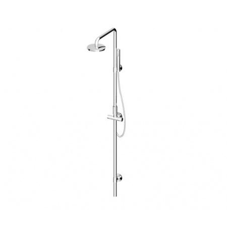Zucchetti Isyshower Zestaw prysznicowy, stal szczotkowana ZD1058.C3