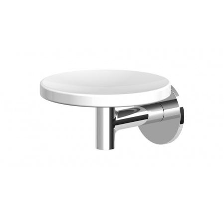 Zucchetti Pan Ceramiczna mydelniczka ścienna, biały matowy, gofrowany ZAC610.W1