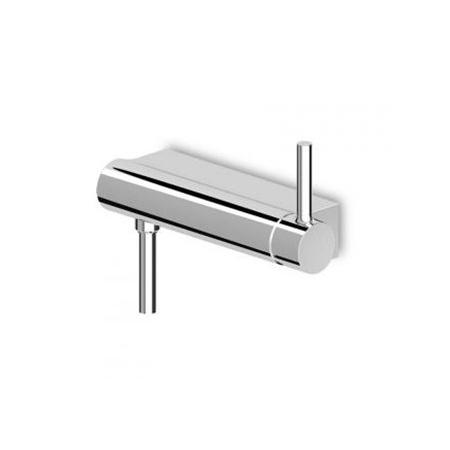 Zucchetti Pan Jednouchwytowa bateria prysznicowa ścienna, biała matowa, gofrowana ZP6068.W1