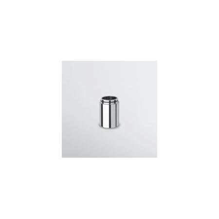 Zucchetti Pan Zestaw podwyższający do baterii umywalkowych 50 mm czarny matowy gofrowany R99531.N1