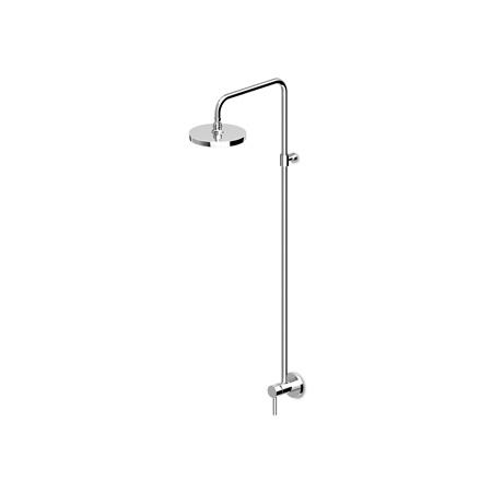 Zucchetti Pan Zestaw prysznicowy z deszczownicą, stal szczotkowana ZP6053.C3
