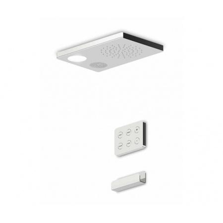 Zucchetti Shower Plus Deszczownica sufitowa, chrom Z94150