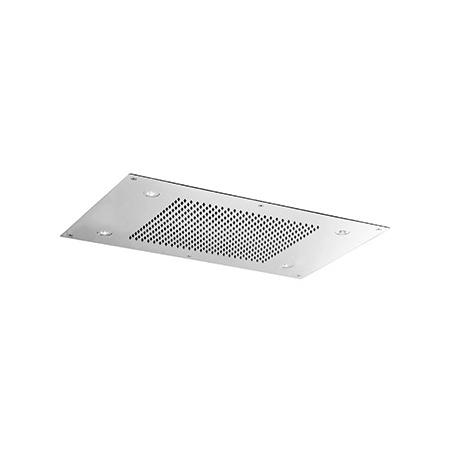 Zucchetti Shower Plus Deszczownica sufitowa, stal szczotkowana Z94220.C3