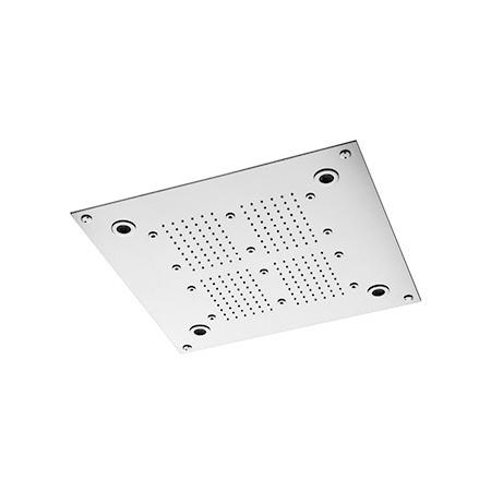 Zucchetti Shower Plus Deszczownica sufitowa, stal szczotkowana Z94233.C3