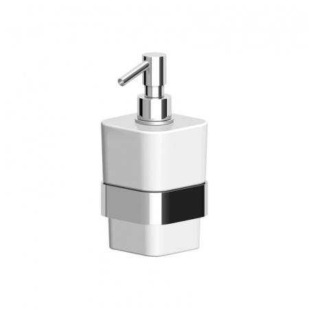 Zucchetti Soft Dozownik mydła naścienny ceramiczny, chrom ZAC715