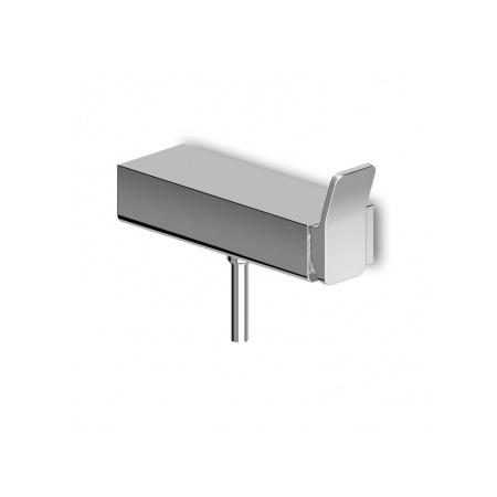 Zucchetti Soft Jednouchwytowa bateria prysznicowa ścienna, błyszczący nikiel ZP7069.C8