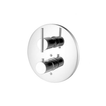 """Zucchetti Spin Bateria prysznicowa termostatyczna podtynkowa 1/2"""", chrom ZX3016"""