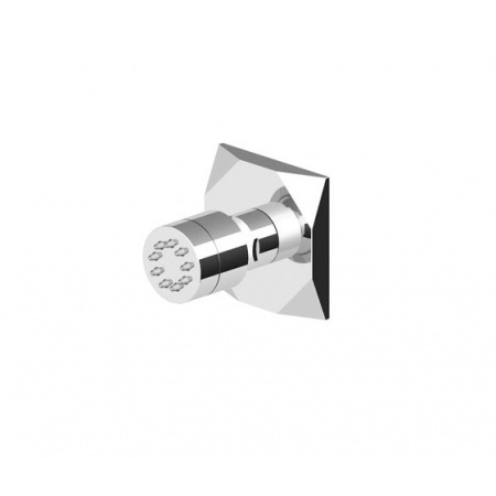 Zucchetti Wosh Jednostrumieniowa dysza boczna do kabin prysznicowych chrom Z92890