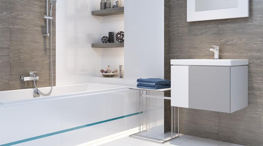 Cersanit Mille White Biała Armatura Do łazienki Gnsbudpl