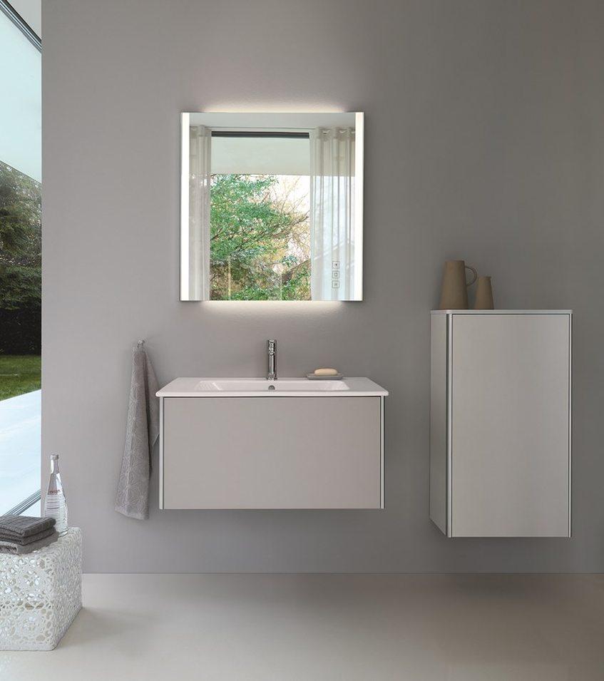 Duravit Xsquare Meble Do łazienki Lustro Z Oświetleniem