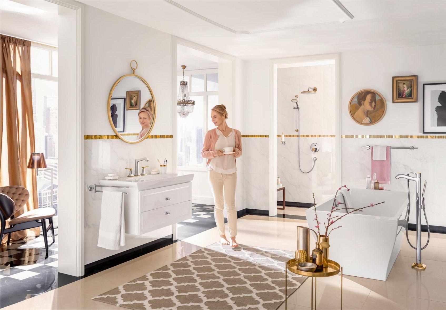łazienka W Stylu Glamour Czyli Jak Stworzyć Wystrój Rodem Z