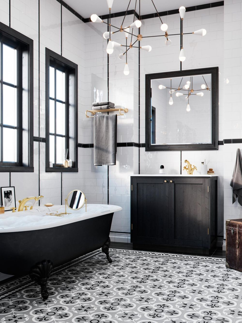 Kludi Adlon Luksusowa Armatura Do łazienki W Stylu Glamour