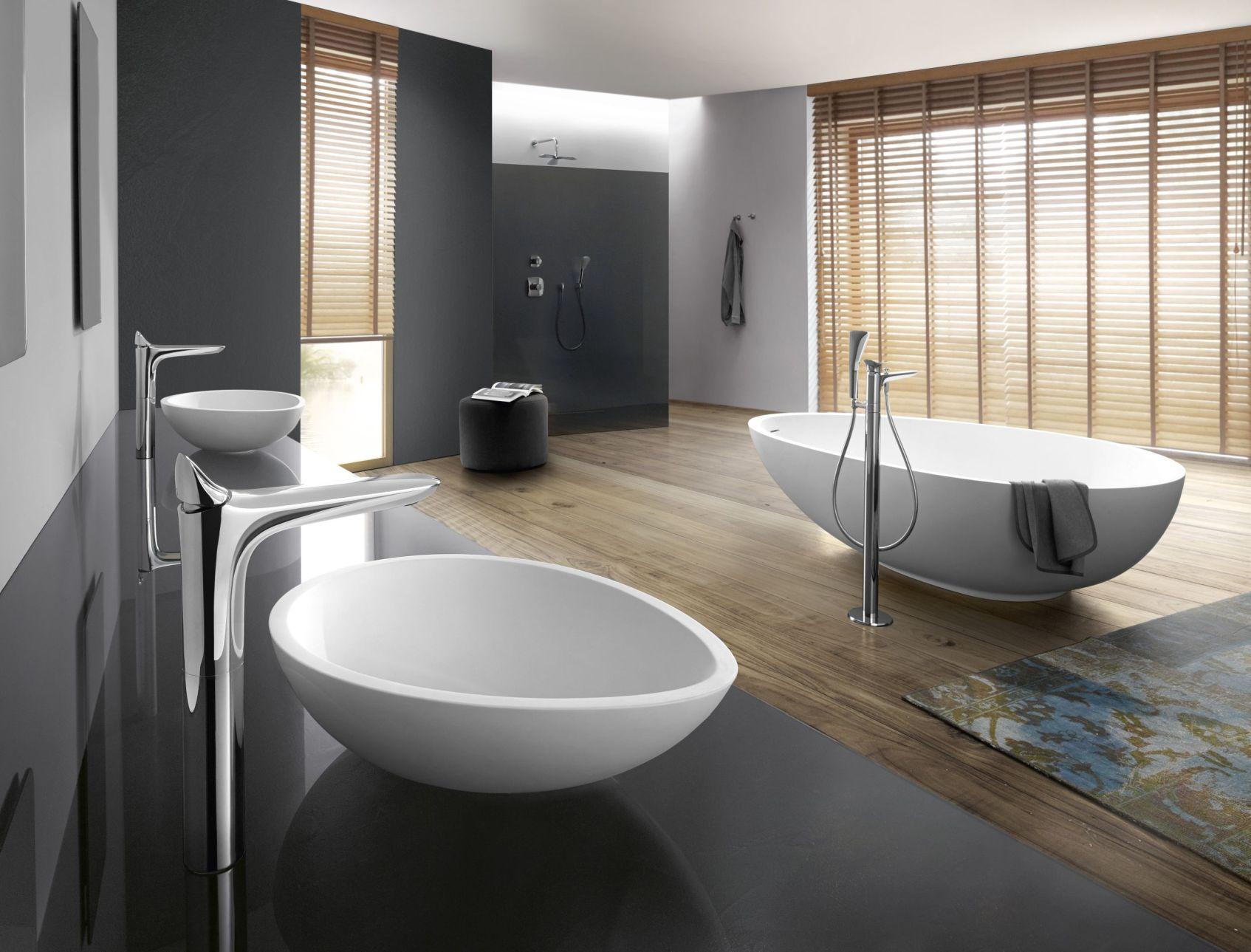 17 Pomysłów Na łazienkę W Drewnie łazienka Biało Drewniana