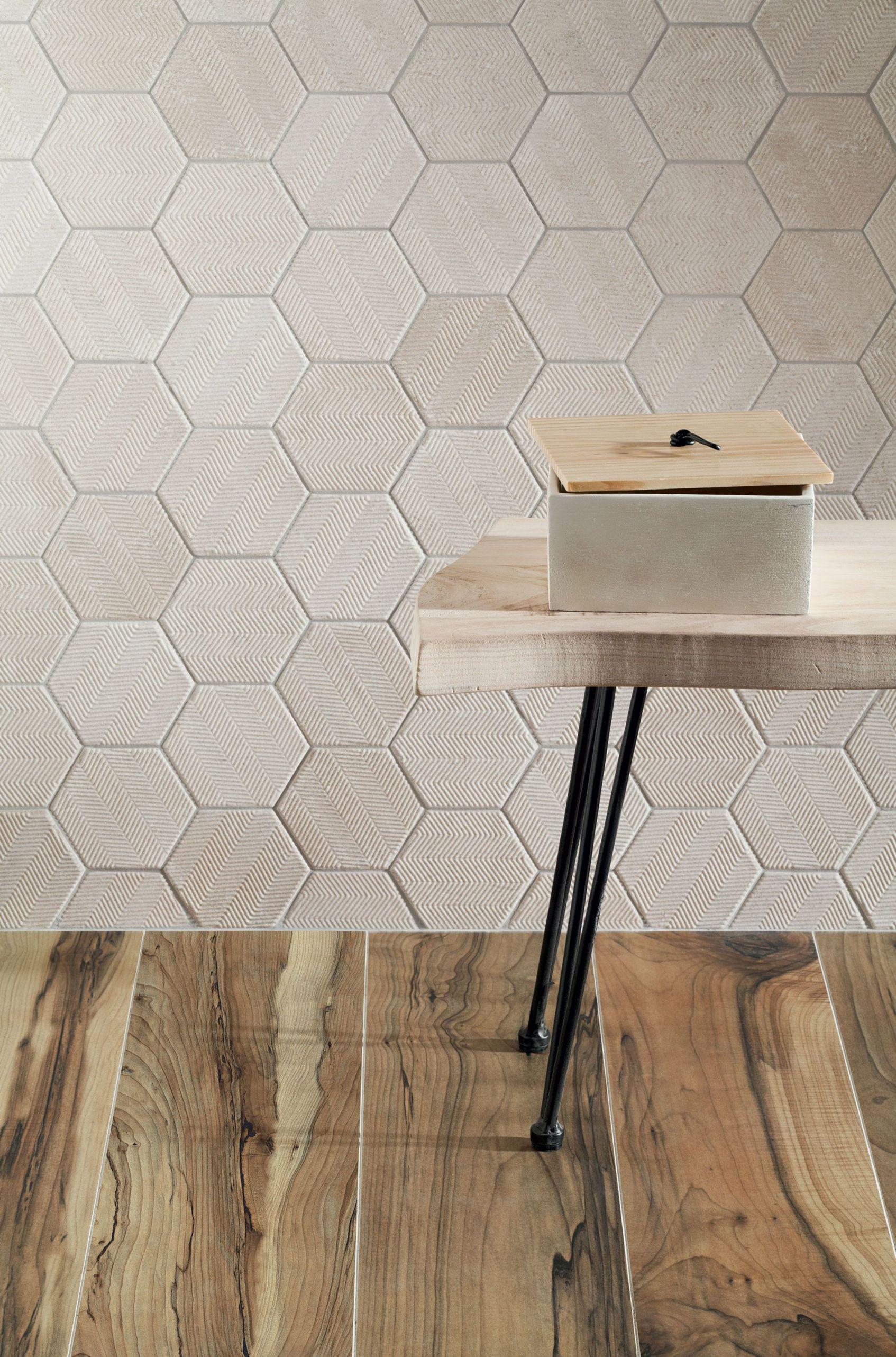 Heksagon W Kuchni I Salonie Płytki Heksagonalne Do łazienki