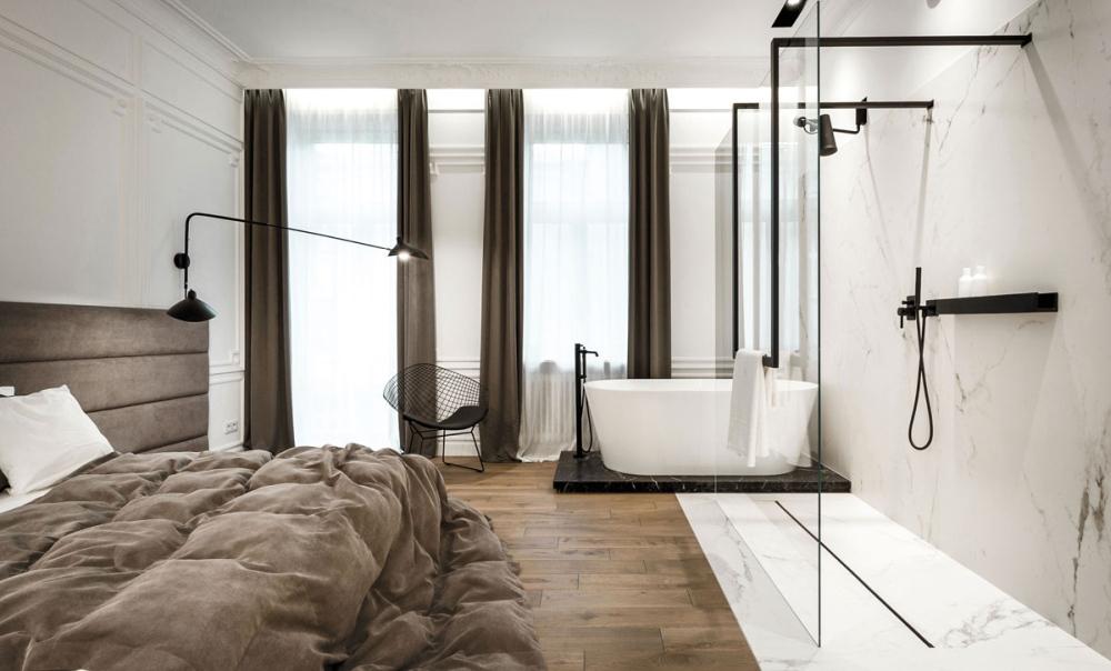 Sypialnia Z łazienką Czy łazienka W Sypialni Wnętrzarski