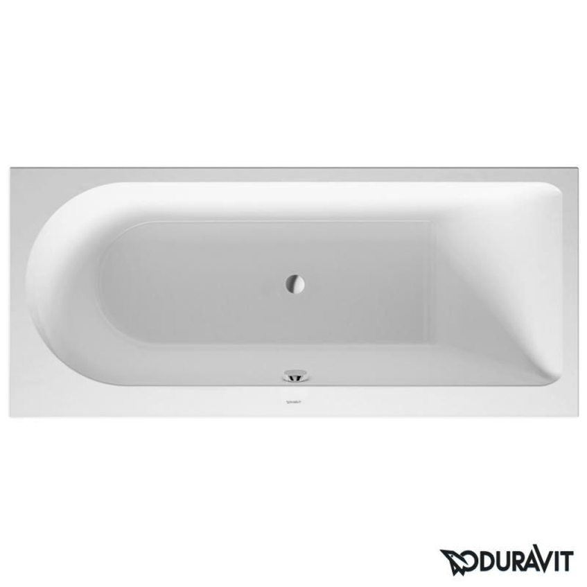 wanny do zabudowy prostokątne – wanna 170x75 cm wanna Duravit Darling NEw