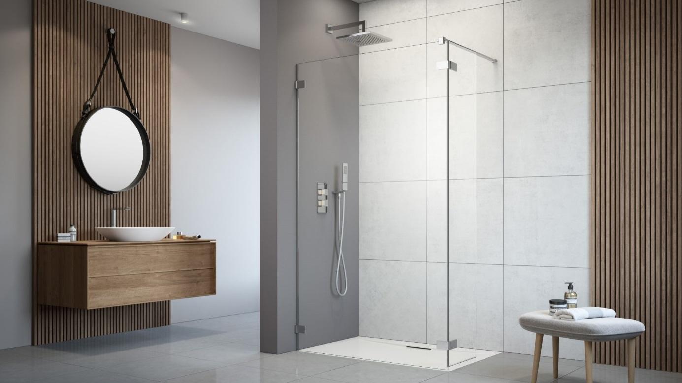 Nowoczesna łazienka Z Prysznicem I Jej Cztery Ważne Elementy