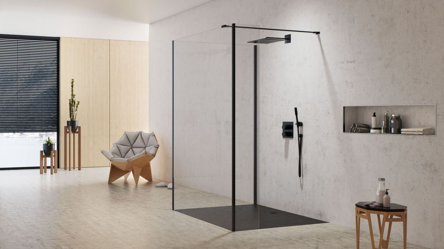 25 Pomysłów Nowoczesna łazienka Z Prysznicem Wanną Czy Na
