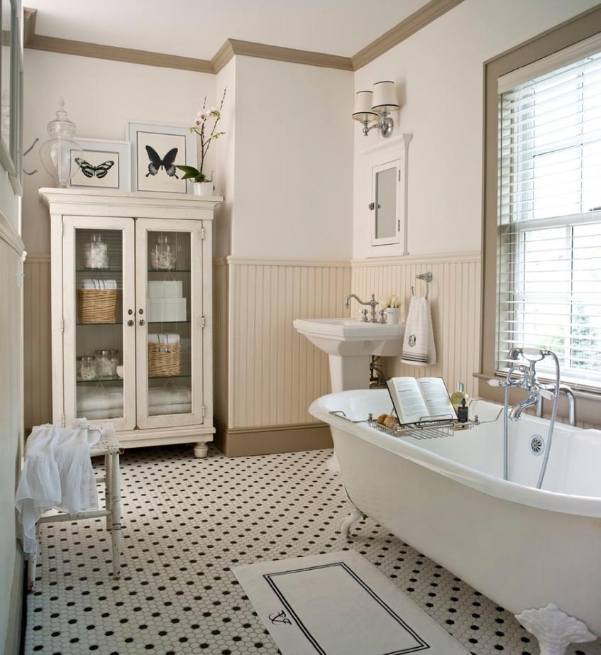 łazienka Retro Retro Aranżacje I Porady Jak Urządzić