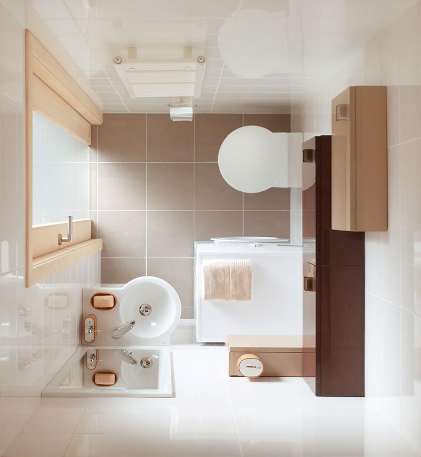 25 Pomyslow Mala Lazienka W Bloku Z Prysznicem Z Wanna Pomysl