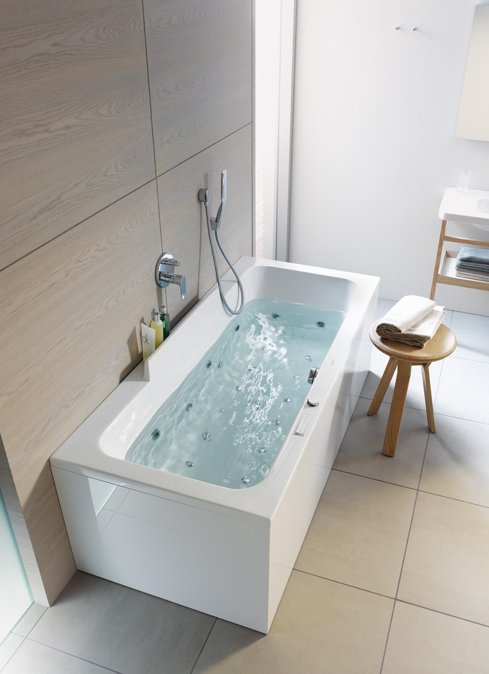 duravit durastyle hydromasaż, wanna hydromasaż duravit durastyle, wanna do łazienki spa