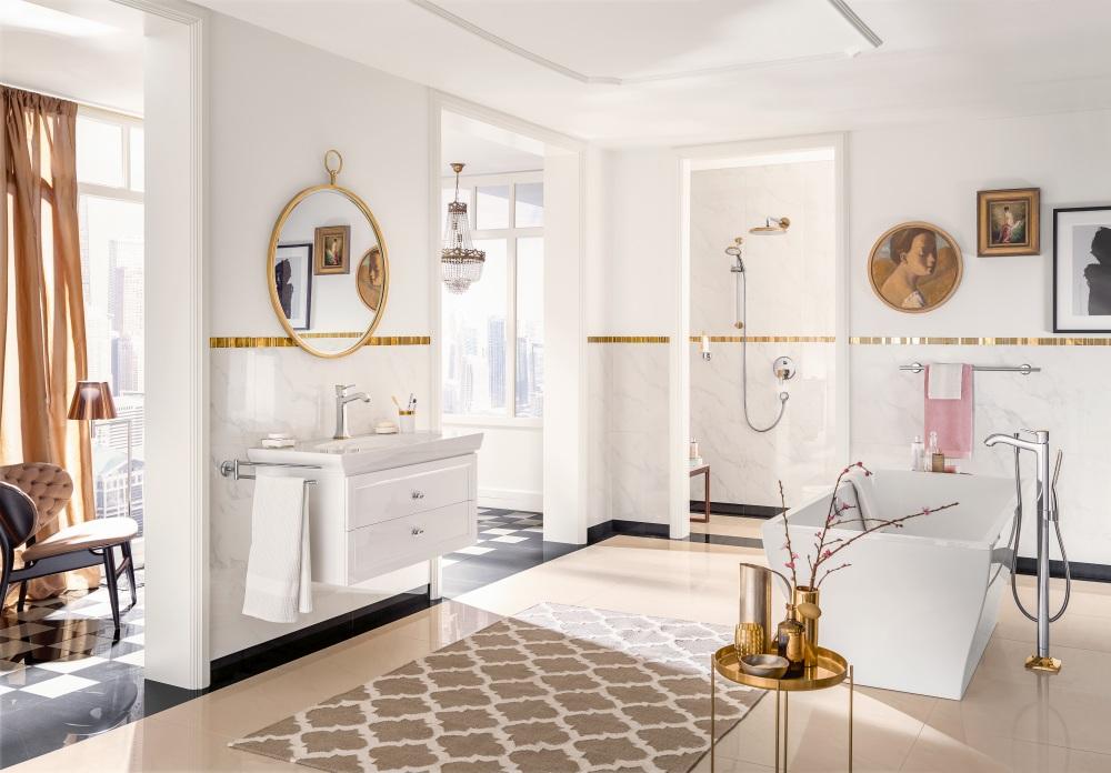 Złota łazienka Jak Ją Urządzić Jakie Płytki Baterie I