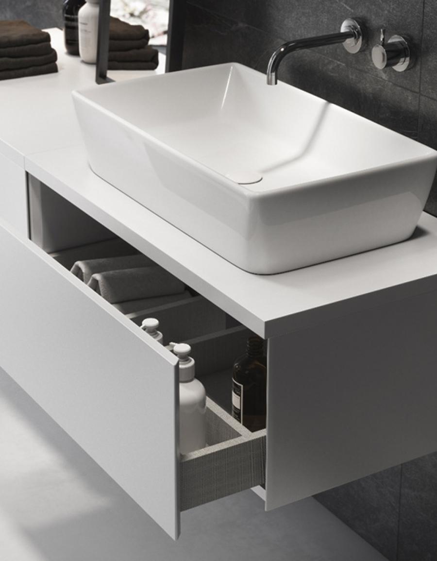 Nowoczesna łazienka z odrobiną luksusu - Opoczno Splendour