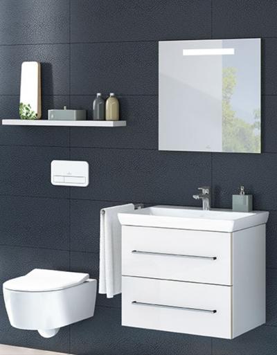 Villeroy&Boch Avento, czyli łazienka w stylu nowoczesnym