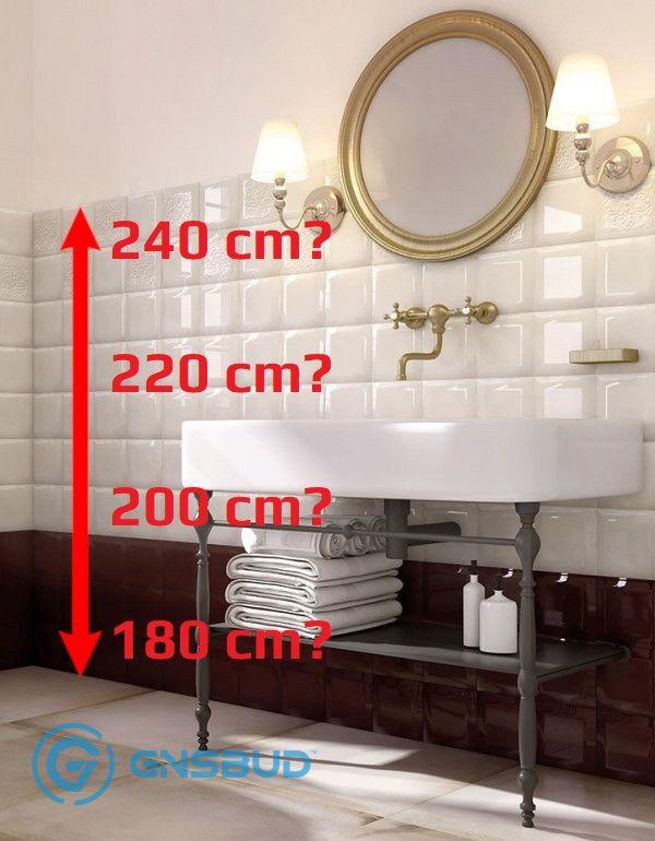 Płytki W łazienkach Do Jakiej Wysokości Forum Blog Opinie