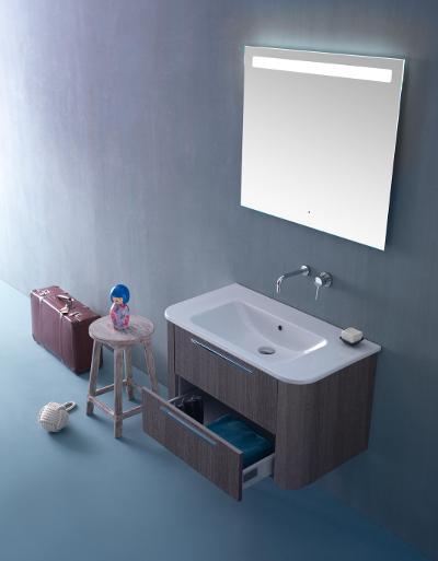 Globo Stone i włoska ceramika łazienkowa w nowoczesnej formie