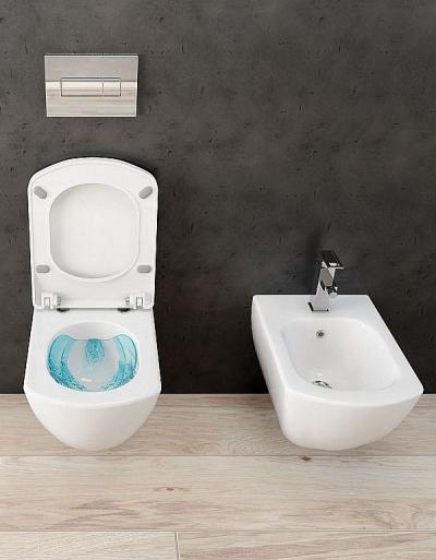 Deante Anemon miska WC bezrantowa – najnowsza propozycja uzupełniająca serię