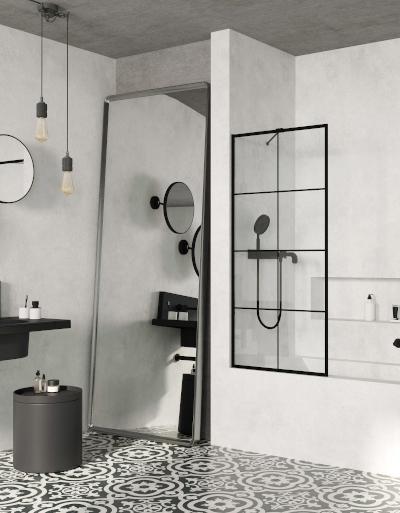 21 inspirujących projektów: czarno-biała łazienka. Zobacz modne biało-czarne łazienki!