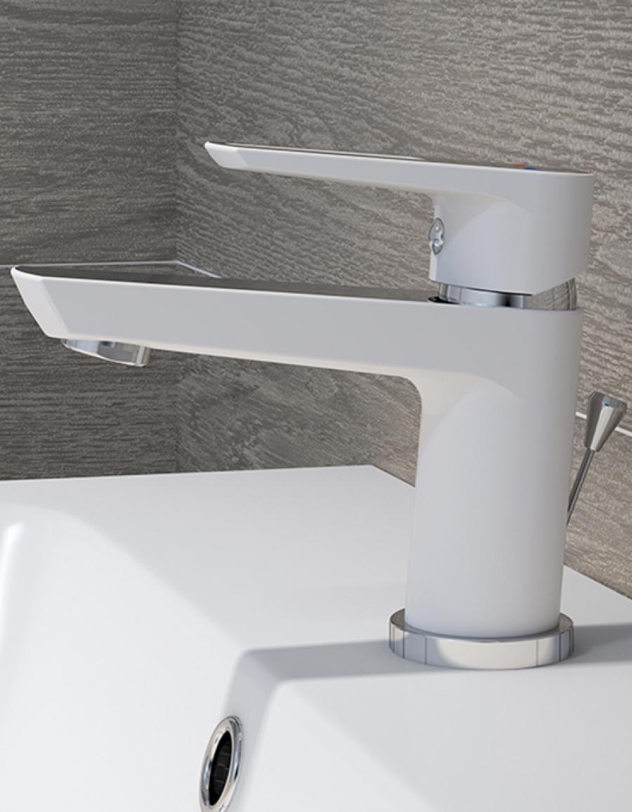 Cersanit Mille White – biała armatura do łazienki!