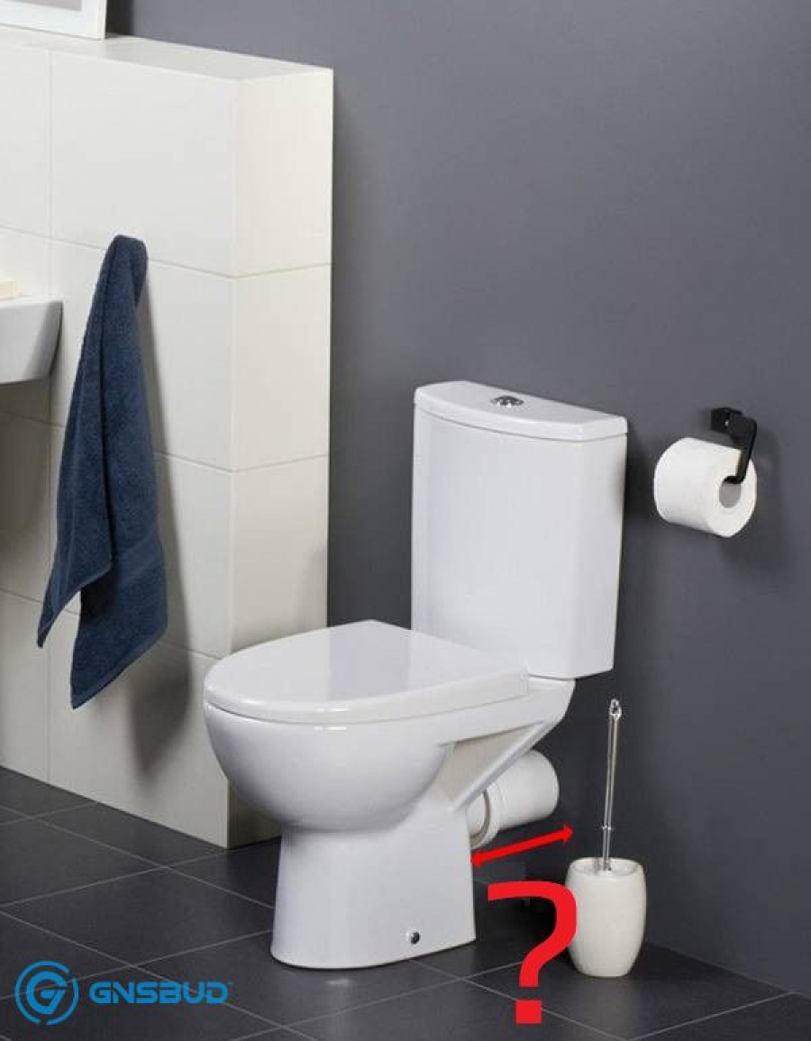 ⚫⚫⚫ WC kompakt - odległość odpływu od ściany ⚫ Forum, Blog, Opinie, Normy w łazience tylko na www.Gnsbud.pl!